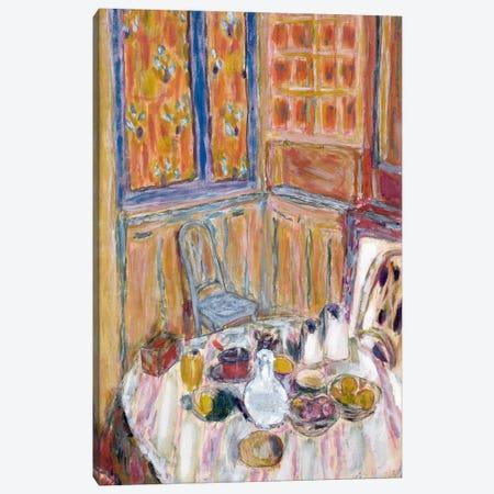 Corner Of The Dining Room, C.1930 Canvas Print #PIB25} by Pierre Bonnard Canvas Artwork