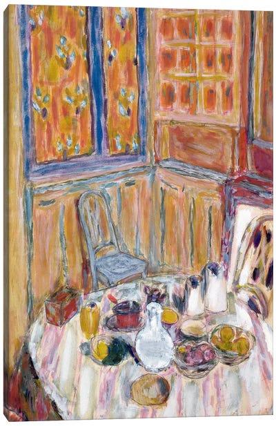 Corner Of The Dining Room, C.1930 Canvas Art Print