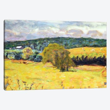 Dauphine Landscape, 1915 Canvas Print #PIB27} by Pierre Bonnard Canvas Artwork