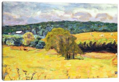 Dauphine Landscape, 1915 Canvas Art Print