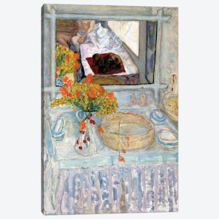 Dressing Table With Mirror, C.1913 Canvas Print #PIB30} by Pierre Bonnard Canvas Wall Art