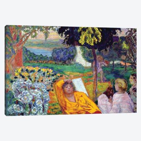 Evening 1914 Canvas Print #PIB34} by Pierre Bonnard Canvas Art Print