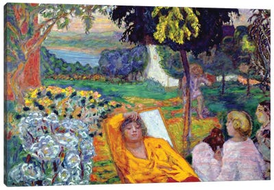 Evening 1914 Canvas Art Print