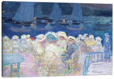 Evening Out Of Doors, 1913 Canvas Art Print