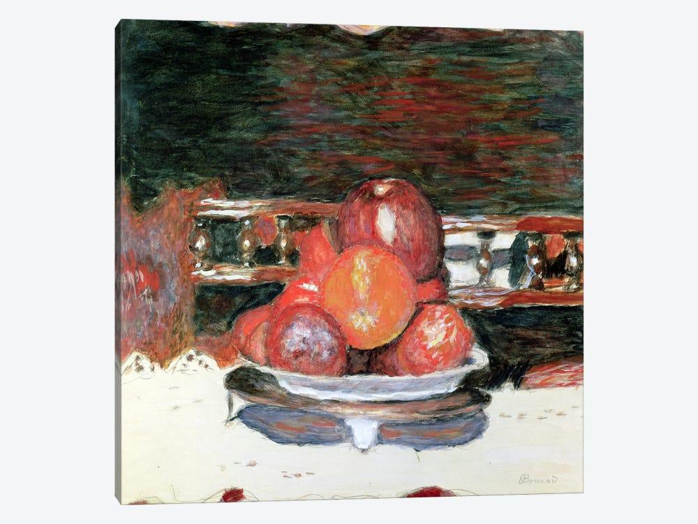 Fruit, Dark Harmony, C.1930 by Pierre Bonnard 1-piece Canvas Art Print