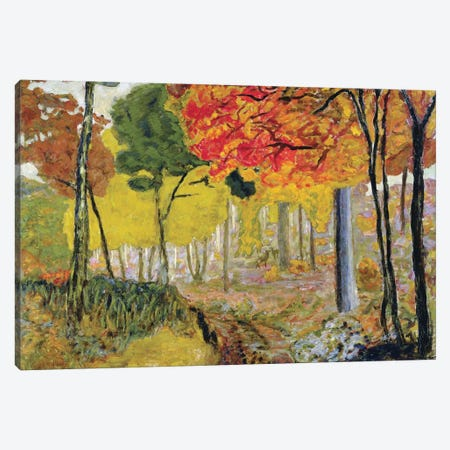 Hinds In The Undergrowth, C.1900 Canvas Print #PIB43} by Pierre Bonnard Art Print
