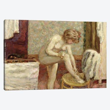 In The Washroom, 1907 Canvas Print #PIB48} by Pierre Bonnard Art Print