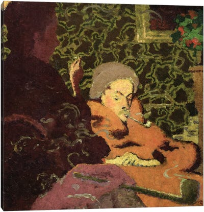 Intimacy, 1891 Canvas Art Print