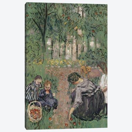 Apple Gathering, 1899 Canvas Print #PIB4} by Pierre Bonnard Canvas Wall Art