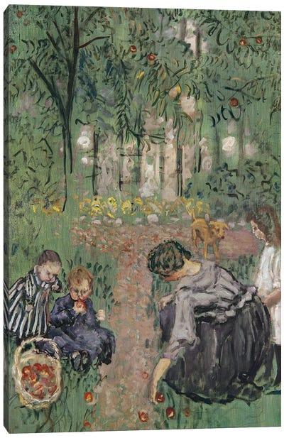 Apple Gathering, 1899 Canvas Art Print