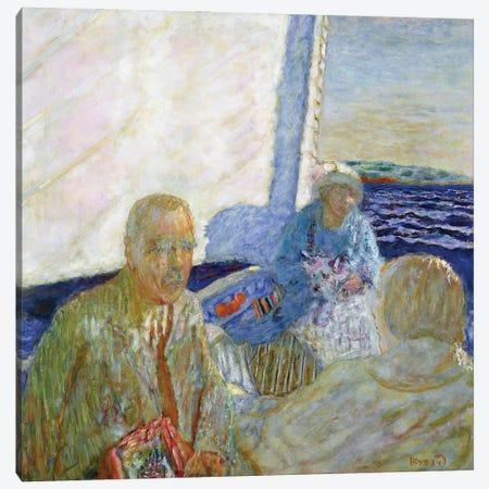 At Sea, 1924 Canvas Print #PIB5} by Pierre Bonnard Canvas Wall Art
