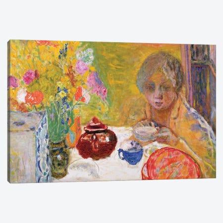 Le Dejeuner, 1932 Canvas Print #PIB65} by Pierre Bonnard Canvas Art