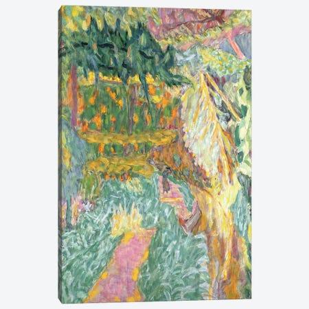 Le Jardin Au Cannet Canvas Print #PIB67} by Pierre Bonnard Canvas Wall Art