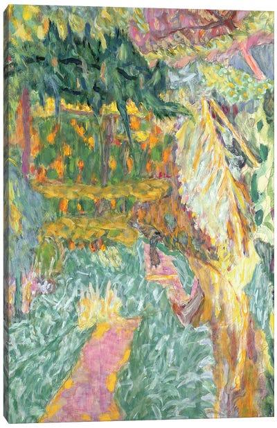 Le Jardin Au Cannet Canvas Art Print