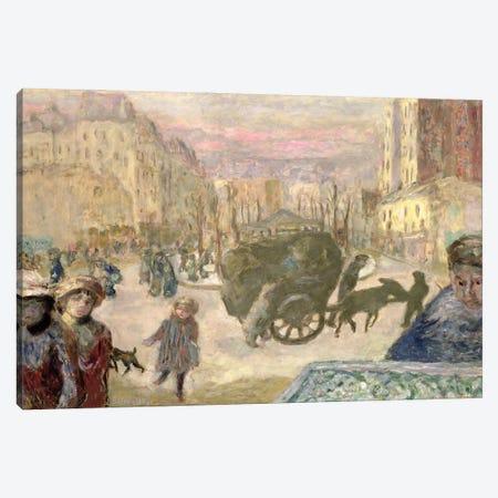 Morning In Paris, 1911 Canvas Print #PIB75} by Pierre Bonnard Canvas Art Print