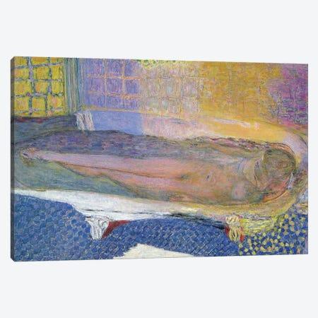 Nude In The Bath, 1936 Canvas Print #PIB84} by Pierre Bonnard Canvas Art