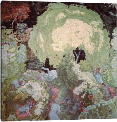 Autumn: The Fruit Pickers, 1912 Canvas Art Print