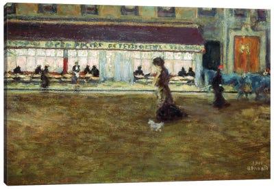 Avenue De Clichy, 1901 Canvas Art Print
