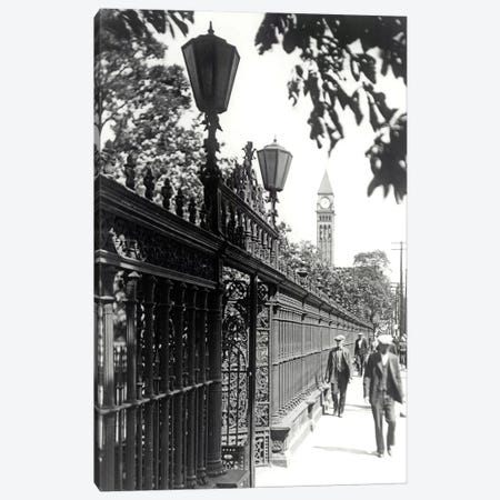 Walking, Vintage Photo Canvas Print #PIC101} by PI Collection Canvas Art