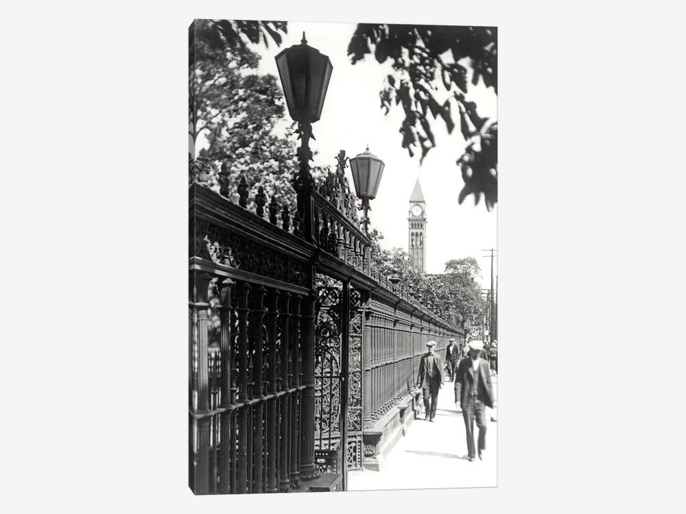 Walking, Vintage Photo by PI Collection 1-piece Canvas Art Print