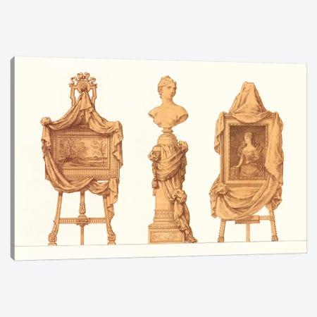 Chevalet et Piedestal Drapes Canvas Print #PIC22} by PI Collection Canvas Artwork