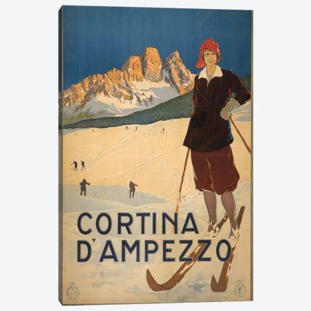 Cortina d'Ampezzo Canvas Print #PIC26} by PI Collection Canvas Art Print