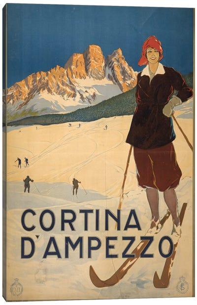 Cortina d'Ampezzo Canvas Art Print