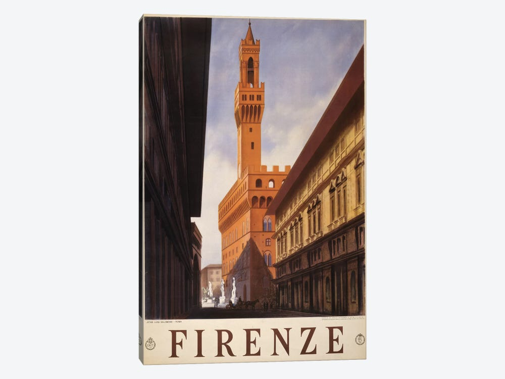 Firenze 1-piece Canvas Print
