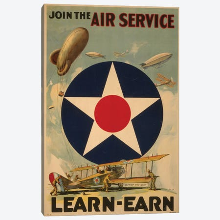 Air Service Canvas Print #PIC3} by PI Collection Canvas Wall Art