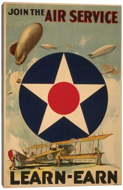 Air Service Canvas Art Print