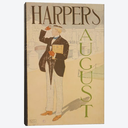 Harper's August Canvas Print #PIC46} by PI Collection Canvas Print