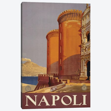 Napoli Canvas Print #PIC62} by PI Collection Canvas Artwork