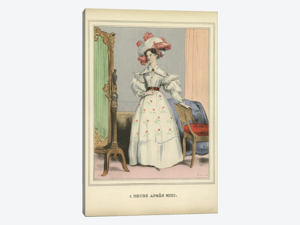 Vintage Woman Ad I 1-piece Canvas Wall Art