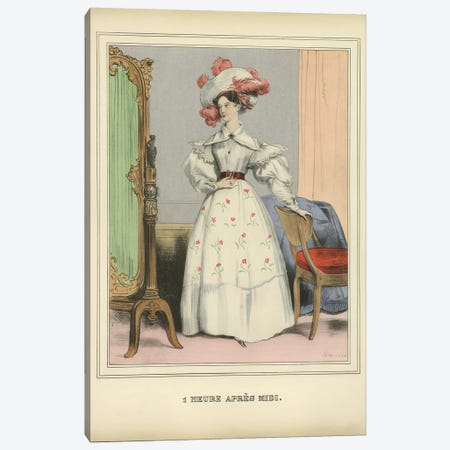 Vintage Woman Ad I Canvas Print #PIC98} by PI Collection Canvas Print