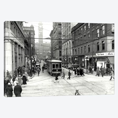 Bay Trolley Canvas Print #PIC9} by PI Collection Canvas Wall Art