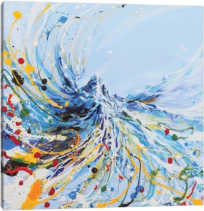 Dancing Mountain Canvas Art Print