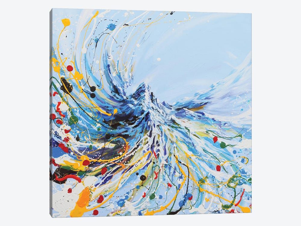Dancing Mountain by Piero Manrique 1-piece Art Print