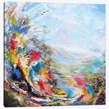 Dream Landscape Canvas Print #PIE103} by Piero Manrique Canvas Wall Art