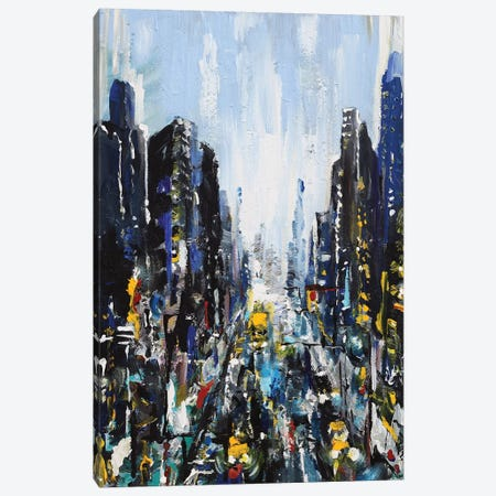 Gotham Canvas Print #PIE104} by Piero Manrique Art Print
