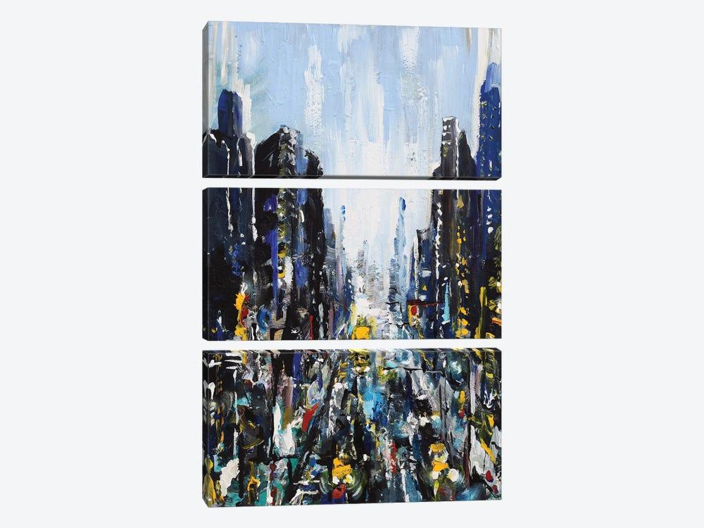 Gotham by Piero Manrique 3-piece Canvas Art