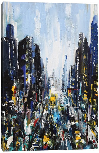 Gotham Canvas Art Print