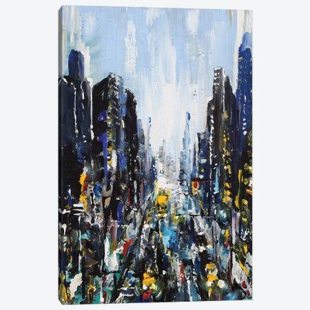 Gotham Canvas Print #PIE104} by Piero Manrique Art Print