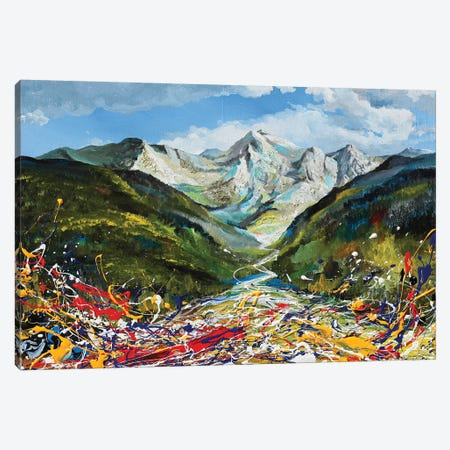 Heart Of The Andes Canvas Print #PIE105} by Piero Manrique Art Print