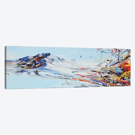 Love Mountain Canvas Print #PIE109} by Piero Manrique Canvas Wall Art