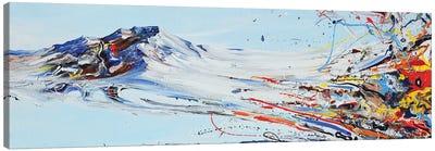 Love Mountain Canvas Art Print