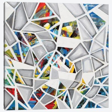Mosaic Canvas Print #PIE110} by Piero Manrique Art Print