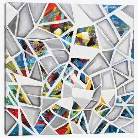 Mosaic Canvas Print #PIE110} by Piero Manrique Art Print