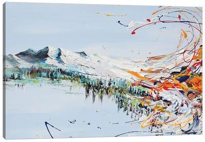 Mountain Flow Canvas Art Print