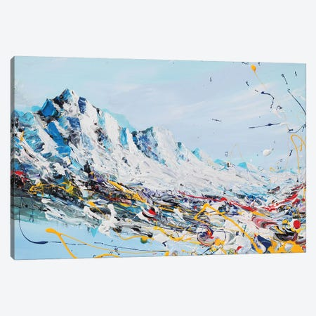 Mountain Fun Canvas Print #PIE112} by Piero Manrique Canvas Art Print