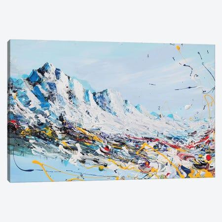 Mountain Fun Canvas Print #PIE112} by Piero Manrique Canvas Art Print